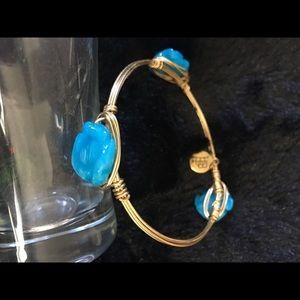 Bourbon & bow ties bangle bracelet